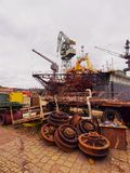Gdansk Shipyard, Poland Stock Photos