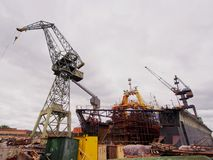 Gdansk Shipyard, Poland Royalty Free Stock Photo