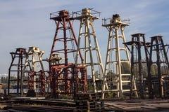 Gdansk shipyard. Taken at a Gdansk shipyard, Poland Stock Photography