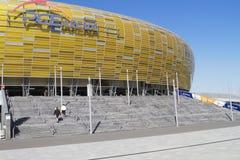 gdansk stadion Arkivfoton