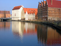 Gdansk in sunny day Royalty Free Stock Images
