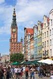Gdansk tijdens het Euro Kampioenschap van 2012 Stock Foto