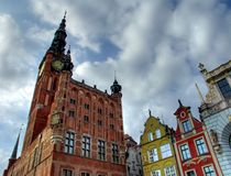 Gdansk Town Hall Stock Image
