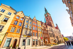 Gdansk town hall Stock Photo