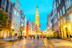 Gdansk town hall Royalty Free Stock Photos