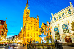 Gdansk town hall Royalty Free Stock Photography