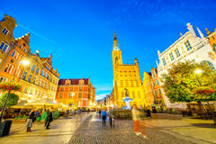 Gdansk town hall Royalty Free Stock Photo