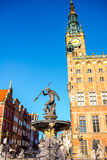 Gdansk town hall Stock Images