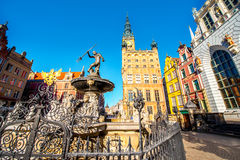 Gdansk town hall Stock Photography