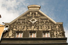 Gdansk - town house decoration Royalty Free Stock Photography