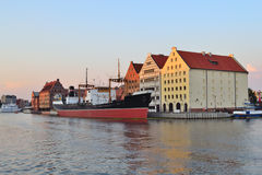 Gdansk at twilight Royalty Free Stock Photography