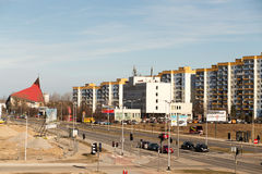 Gdansk urban view. Stock Images