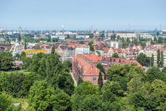 Gdansk view Stock Photography