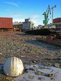 Gdansk-Werft Lizenzfreies Stockbild