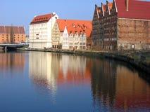 Gdansk in zonnige dag Royalty-vrije Stock Afbeeldingen