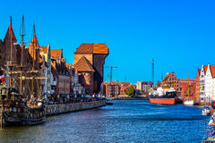 Gdańsk - the old town Stock Photo
