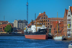 Gdańsk - the old town Royalty Free Stock Photo