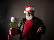 Gderliwy Święty Mikołaj fotografia stock