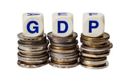 GDP Royalty Free Stock Photography
