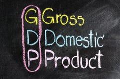 GDP för affärsstrategi Arkivbilder