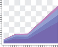 GDP graph. Illustration clip-art vector eps Stock Images