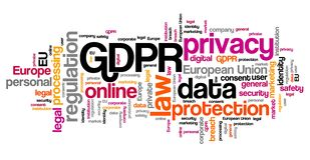 GDPR数据保护 库存例证