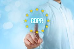 GDPR concept Stock Image