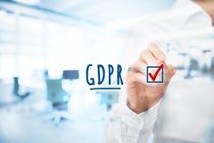 GDPR est mis en application photo libre de droits