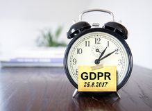 GDPR General Data Protection Regulation Royalty Free Stock Image