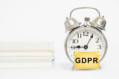 GDPR General Data Protection Regulation Royalty Free Stock Image