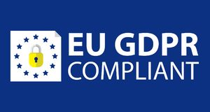 GDPR General Data Protection Regulation Business Internet Technology Concept. This is GDPR General Data Protection Regulation Business Internet Technology Royalty Free Stock Images