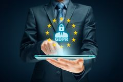 GDPR concept Stock Images