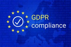 Free GDPR - General Data Protection Regulation. GDPR Compliance Symbol. Vector Royalty Free Stock Images - 113216779
