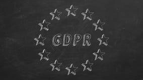 GDPR stock illustratie