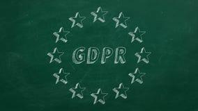 GDPR royalty-vrije illustratie