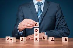 GDPR-Konzept Stockfoto