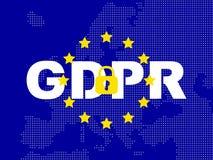 GDPR - Regolamento generale di protezione dei dati fotografie stock