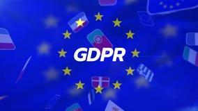 GDPR-Video lizenzfreie abbildung