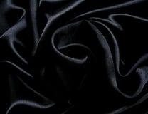 gdy gładki tło jedwab czarny elegancki Obrazy Stock