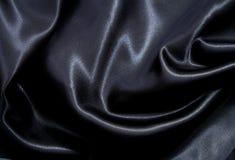 gdy gładki tło jedwab czarny elegancki Zdjęcia Royalty Free