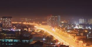 Gdy latarnie uliczne w górę obrazy royalty free