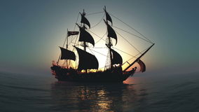 gdy tło błękitny był łódkowate łodzie mogą target188_0_ ciemne etc flaga target191_0_ hotelowi wizerunku logotypu morscy czerwoni royalty ilustracja
