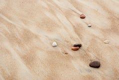 gdy tło był może otoczaków piaska kamień używać Zdjęcia Royalty Free