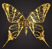 gdy tło czarny był motyl może target1209_2_ cmyk koloru projekta elementów loga logotypu tryb używać Obraz Royalty Free
