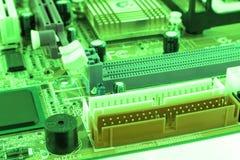 gdy tło deska może use Elektronicznego komputeru narzędzia technologia Płyta główna cyfrowy układ scalony Techniki nauki tło Zint Obraz Stock