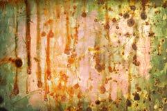 gdy tło kolor galwanizował starego Obraz Stock