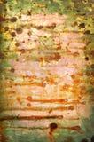 gdy tło kolor galwanizował starego Zdjęcia Stock