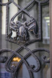 gdy tła rabatowy metalu ornament Obrazy Royalty Free