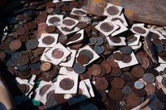 Gdy waluta był fizyczna obrazy stock