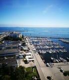 Gdynia cityscape Royaltyfri Fotografi
